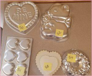 Cake Pans - Valentines
