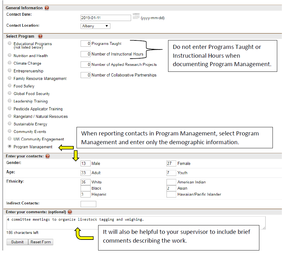 Program Management Graphic