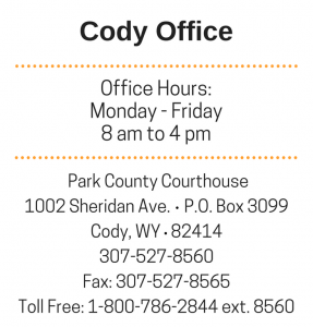 Cody Office Hours